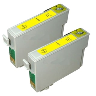Epson T069420 (T0694) Yellow Remanufactured Ink Cartridge (Pack of 2)