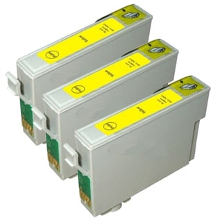 Epson T069420 (T0694) Yellow Remanufactured Ink Cartridge (Pack of 3)