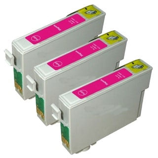 Epson T069320 (T0693) Magenta Remanufactured Ink Cartridge (Pack of 3)