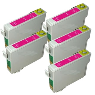 Epson T069320 (T0693) Magenta Remanufactured Ink Cartridge (Pack of 5)