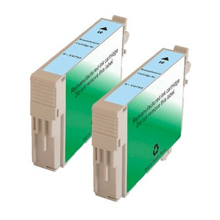 Epson T079520 (T0795) High Yield Light Cyan Remanufactured Ink Cartridge (Pack of 2)