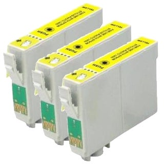 Epson T079420 (T0794) High Yield Yellow Remanufactured Ink Cartridge (Pack of 3)
