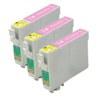Remanufactured Epson T079620/ T0796 High Yield Light Magenta Ink Cartridges (Pack of 3)