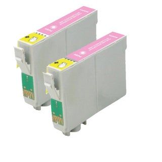 Remanufactured Epson T079620/ T0796 High Yield Light Magenta Ink Cartridges (Pack of 2)