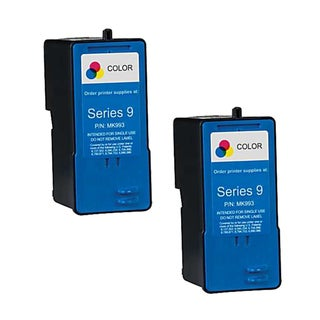 Dell MK993 (Series 9) High-Capacity Color Ink Cartridge (Pack of 2)