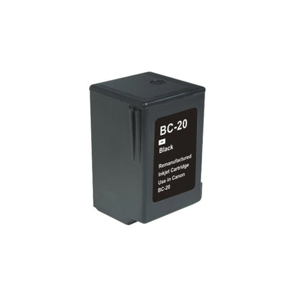 Canon BC20 Black Remanufactured Inkjet Cartridge