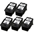 Canon PG-210XL Black Remanufactured Inkjet Cartridge (PacK of 5)