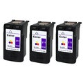 Canon CL-211 Color Remanufactured Inkjet Cartridge (Pack of 3)
