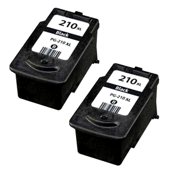 Remanufactured Canon PG-210XL inkjet cartridge - high capacity black