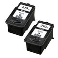 Canon PG-210 Black Remanufactured Inkjet Cartridge (Pack of 2)