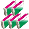 Epson T125320 (T1253) Standard Yield Magenta Remanufactured Ink Cartridge (Pack of 5)