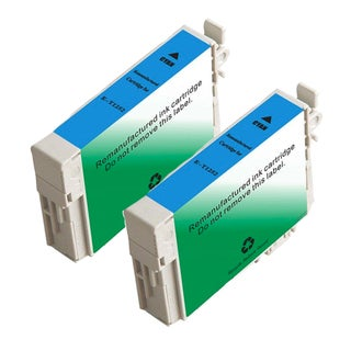 Epson T125220 (T1252) Standard Yield Cyan Remanufactured Ink Cartridge (Pack of 2)