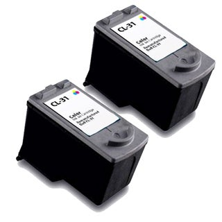 Canon CL31 Color Remanufactured Inkjet Cartridge (Pack of 2)