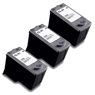 Canon CL31 Color Remanufactured Inkjet Cartridge (Pack of 3)
