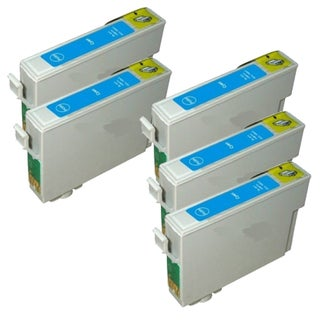 Epson T069220 (T0692) Cyan Remanufactured Ink Cartridge (Pack of 5)