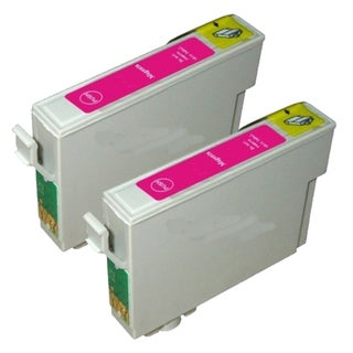 Epson T069320 (T0693) Magenta Remanufactured Ink Cartridge (Pack of 2)