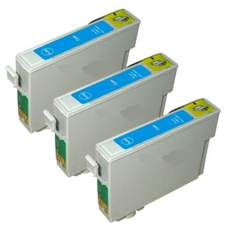 Epson T069220 (T0692) Cyan Remanufactured Ink Cartridge (Pack of 3)