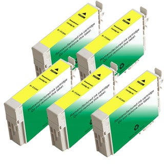 Epson T126420 (T1264) Yellow Remanufactured Ink Cartridge (Pack of 5)