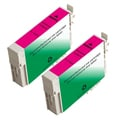 Epson T126320 (T1263) Magenta Remanufactured Ink Cartridge (Pack of 2)