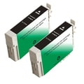 Epson T126120 (T1261) Black Remanufactured Ink Cartridge (Pack of 2)