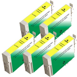 Epson T125420 (T1254) Standard Yield Yellow Remanufactured Ink Cartridge (Pack of 5)