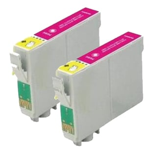 Epson T079320 (T0793) High Yield Magenta Remanufactured Ink Cartridge (Pack of 2)