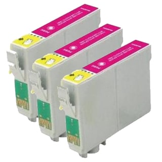 Epson T079320 (T0793) High Yield Magenta Remanufactured Ink Cartridge (Pack of 3)