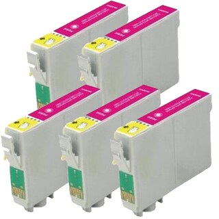 Epson T079320 (T0793) High Yield Magenta Remanufactured Ink Cartridge (Pack of 5)