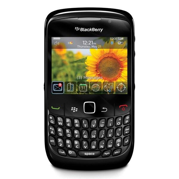BlackBerry Curve 8520 Smartphone - Wi-Fi - Bar - Black