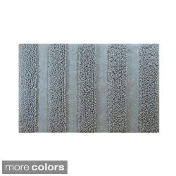 Chenille Stripe 20 x 30 Bath Rug (Set of 2)
