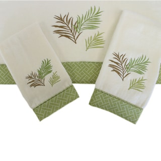 Sherry Kline Sago Palm 3-piece Decorative Towel Set
