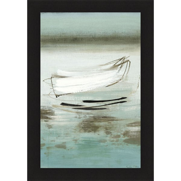 Heather McAlpine 'Canoe' Framed Print