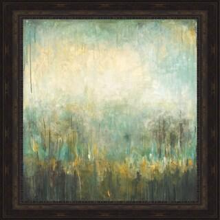 Wani Pasion 'Jardin Vert' Framed Print