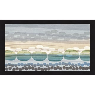 Tandi Venter 'Pebble Beach' Framed Print