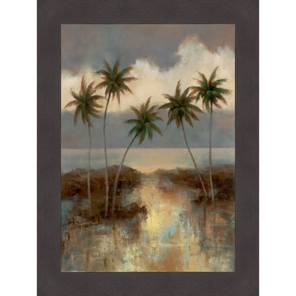 T.C. Chiu 'After the Rain II' Framed Artwork
