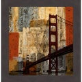 Katrina Craven 'Bay Bridge' Framed Artwork