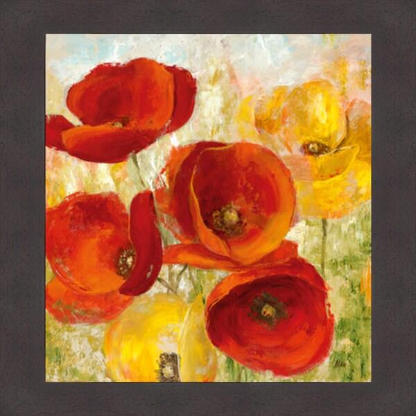 Nan 'Flourishing Meadow I' Framed Artwork 11509409
