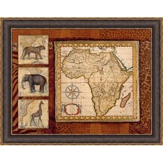 Tava Studios 'Journey To Africa I' Framed Artwork