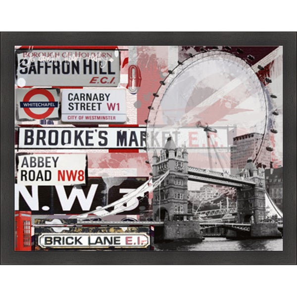 Andrew Cotton 'Saffron Hill' Framed Artwork
