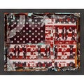Andrew Cotton 'Old Glory' Framed Artwork