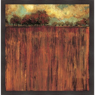 Liz Jardine 'Horizon Line with Trees I' Framed Artwork