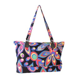 Jenni Chan Wild Flower Laptop Tote Bag