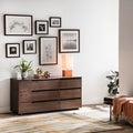 Burke Tobacco 6-drawer Bedroom Dresser