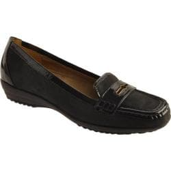 Women's Circa Joan & David Finton Navy Nubuck/Navy Patent Trim