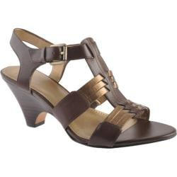 Women's Circa Joan & David Nadeena Dark Brown/Bronze Leather