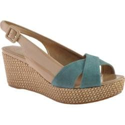 Women's Circa Joan & David Walbridge Nude/Teal Patent