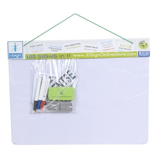 Dry Erase Magnetic Whiteboard Set