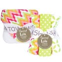 Trend Lab Savannah 6-piece Hooded Towel and Wash Cloth Set