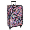 Jenni Chan Wild Flower 28-inch Large 360 Quattro Spinner Upright Suitcase