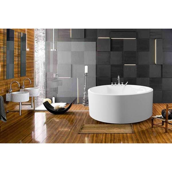 Aquatica PureScape 308 Freestanding Acrylic Bathtub
